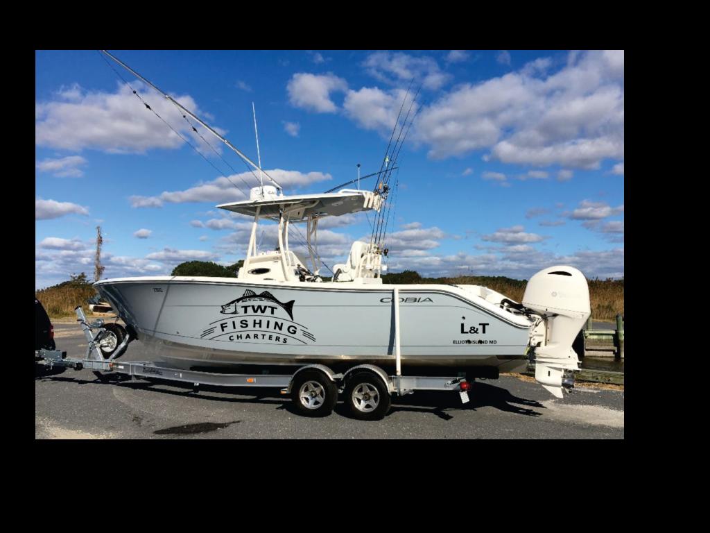 TWT Fishing Charters L & T Boat